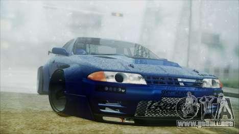 Nissan Skyline GT-R R32 Battle Machine para GTA San Andreas left