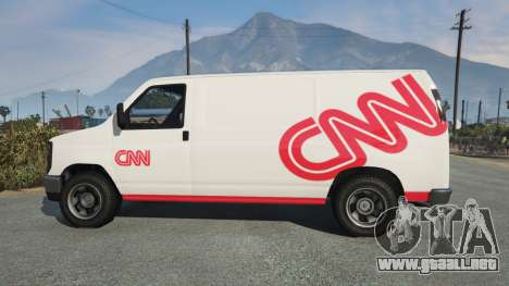 GTA 5 Bravado Rumpo CNN v0.2 vista lateral izquierda