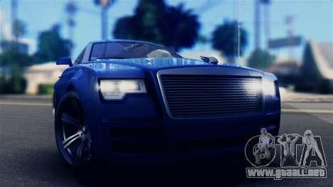GTA 5 Enus Windsor IVF para la visión correcta GTA San Andreas