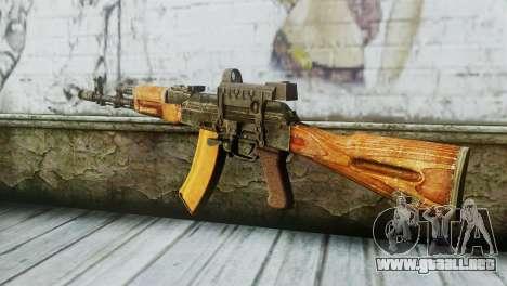 AK-74 Sight para GTA San Andreas segunda pantalla