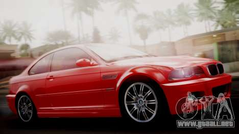 BMW M3 E46 v2 para GTA San Andreas