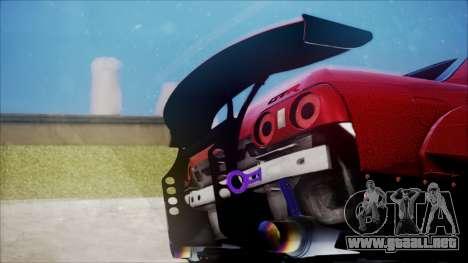 Nissan Skyline GT-R R32 Battle Machine para visión interna GTA San Andreas