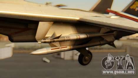 F-14A Tomcat VF-202 Superheats para la visión correcta GTA San Andreas