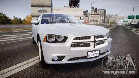 Dodge Charger Traffic Patrol Unit [ELS] bl para GTA 4