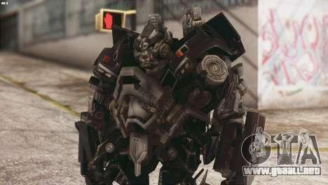 Ironhide Skin from Transformers v3 para GTA San Andreas