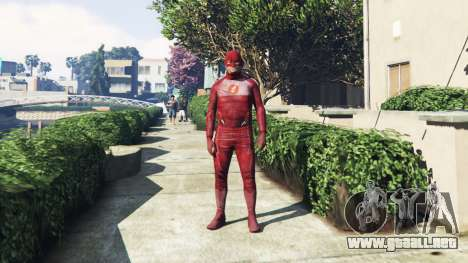 El Traje De Flash para GTA 5