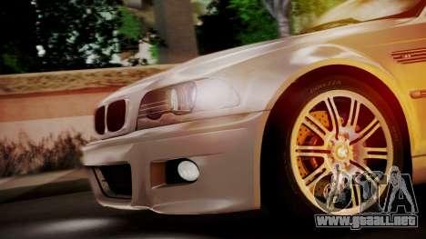BMW M3 E46 v2 para visión interna GTA San Andreas