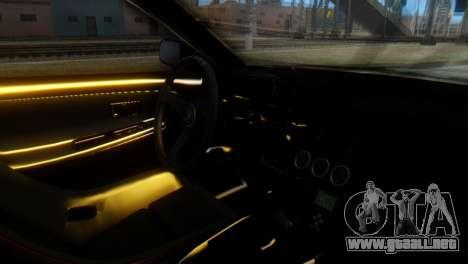 Nissan 180SX Uras Bodykit para la visión correcta GTA San Andreas