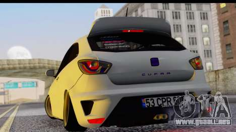 Seat Ibiza para GTA San Andreas left