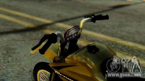Honda Tornado para la visión correcta GTA San Andreas
