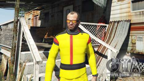 GTA 5 El traje de karate