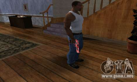 Black Lines Deagle para GTA San Andreas tercera pantalla