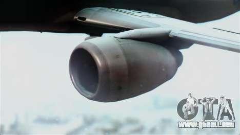 Boeing 737-800 Royal Air Force para la visión correcta GTA San Andreas