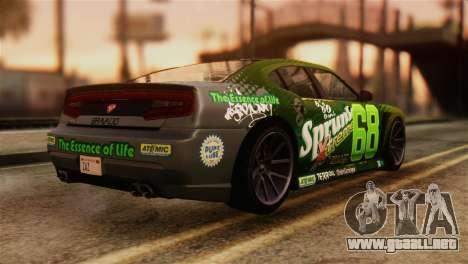 GTA 5 Bravado Buffalo Sprunk IVF para GTA San Andreas left
