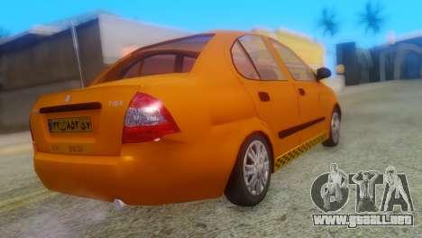 Tiba Taxi v1 para GTA San Andreas left