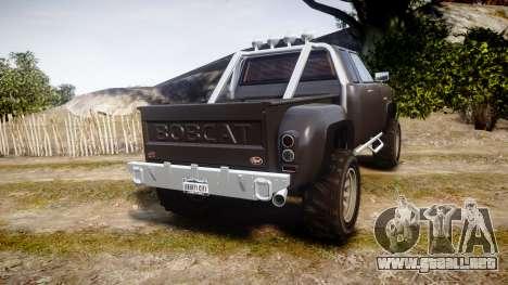 Vapid Bobcat Hillbilly para GTA 4 Vista posterior izquierda