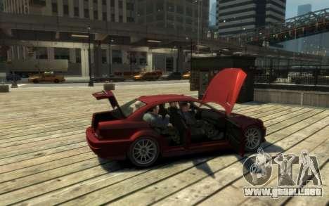 La supremacía de la Centinela (XS) de 4 puertas para GTA 4 vista interior