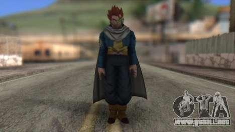 Dragon Ball Xenoverse Mysterious Warrior para GTA San Andreas