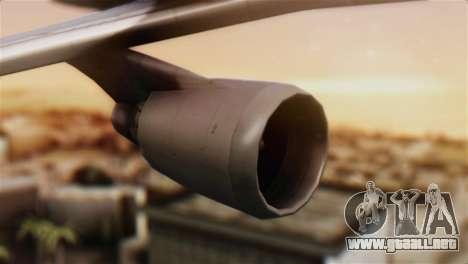 Boeing 747-400 Garuda Indonesia Sky Team para la visión correcta GTA San Andreas
