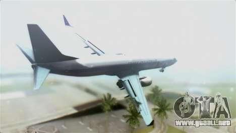 Boeing 737-800 Polskie Linie Lotnicze LOT para GTA San Andreas left