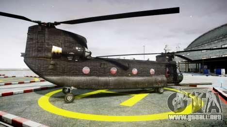 Boeing CH-47G Chinook [EPM] para GTA 4 left