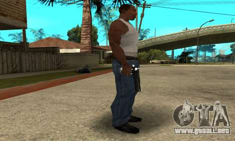 Cool Black Deagle para GTA San Andreas segunda pantalla