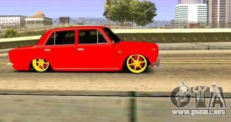 VAZ 2101 MU para la visión correcta GTA San Andreas