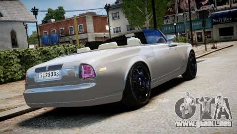 Rolls-Royce Phantom Coupe 2009 para GTA 4 left