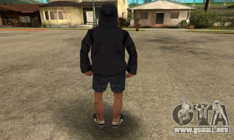 Cool Bitch Five para GTA San Andreas sucesivamente de pantalla