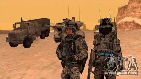 BF3 Montes para GTA San Andreas segunda pantalla