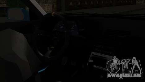Nissan Skyline R32 Camo Drift para la visión correcta GTA San Andreas