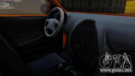 Tiba Taxi v1 para la visión correcta GTA San Andreas