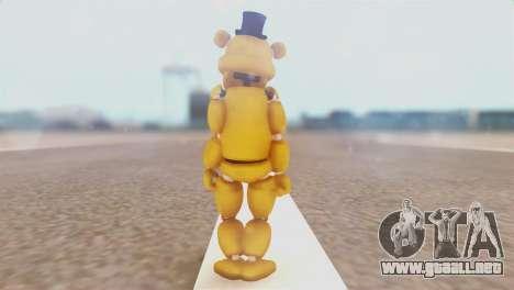 Golden Freddy v2 para GTA San Andreas tercera pantalla