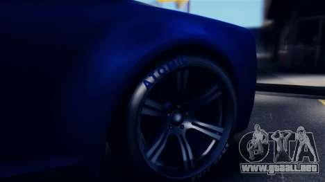 GTA 5 Enus Windsor IVF para GTA San Andreas vista hacia atrás