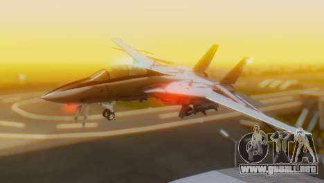 F-14A Tomcat Marynarka Wojenna RP para GTA San Andreas
