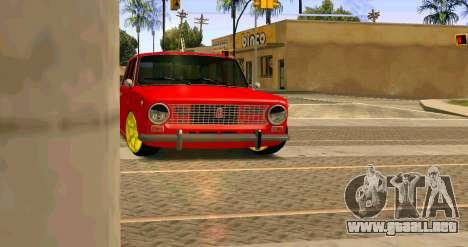 VAZ 2101 MU para GTA San Andreas left