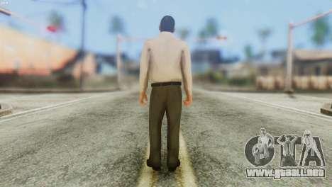GTA 5 Skin 4 para GTA San Andreas segunda pantalla
