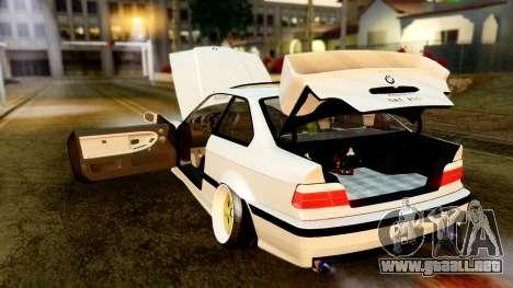 BMW M3 E36 Stance para visión interna GTA San Andreas