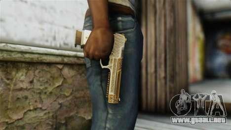 Desert Eagle Skin from GTA 5 para GTA San Andreas tercera pantalla