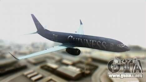 Boeing 737-800 Ryanair Guinness para GTA San Andreas