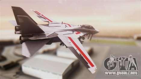 F-14D Tomcat Macross Red para GTA San Andreas left