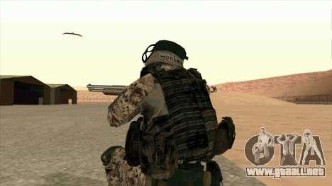 BF3 Montes para GTA San Andreas sucesivamente de pantalla