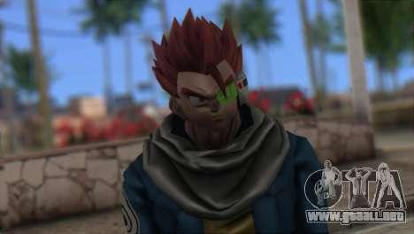Dragon Ball Xenoverse Mysterious Warrior para GTA San Andreas tercera pantalla