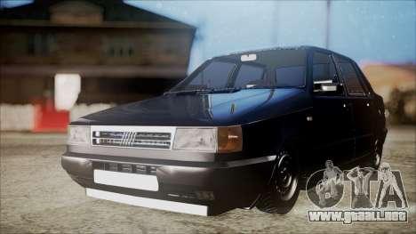 Fiat Duna Al Piso para GTA San Andreas vista posterior izquierda
