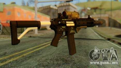 Carbine Rifle from GTA 5 v2 para GTA San Andreas segunda pantalla