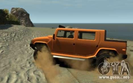 Mammoth Patriot Pickup para GTA 4 left