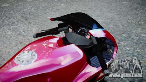Bike Bati 2 HD Skin 3 para GTA 4 visión correcta