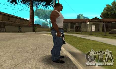 Two Lines Deagle para GTA San Andreas segunda pantalla