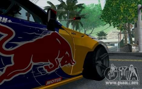 Toyota GT86 Red Bull para GTA San Andreas vista hacia atrás