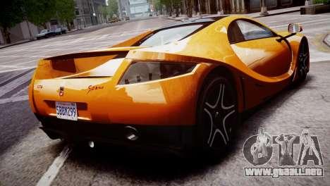 GTA Spano 2013 para GTA 4 left